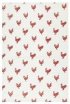 KitchenCraft French Hen Tea Towels, Set of 2