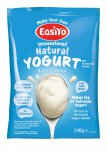 EasiYo Unsweetened Natural Yogurt 140g