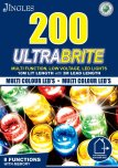 Jingles 200 Ultrabrite Multi-Function LED Lights - Multicoloured