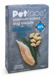 Petface Premium Baked Dog Biscuits 290g - Atlantic Fish