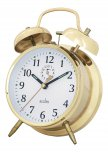 Acctim Saxon Key Wind Alarm Clock Brass