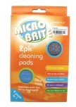 Country Club Micro Brite Microfibre Cleaning Pads (Pack of 2)