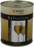 Young's Definitive Medium Dry White Grape Juice - 900g
