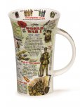 Dunoon Glencoe Shape Fine Bone China Mug - WW1