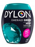 Dylon All-In-1 Fabric Dye Pod in Emerald Green