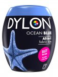 Dylon All-In-1 Fabric Dye Pod in Ocean Blue