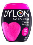 Dylon All-In-1 Fabric Dye Pod in Passion Pink