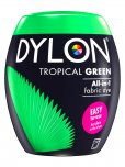 Dylon All-In-1 Fabric Dye Pod in Tropical Green
