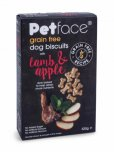 Petface Grain Free Dog Biscuits 320g - Lamb & Apple