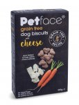 Petface Grain Free Dog Biscuits 320g - Cheese