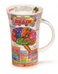 Dunoon Glencoe Shape Fine Bone China Mug - The Brain