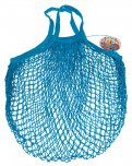 Rex French Style String Shopping Bag Blue