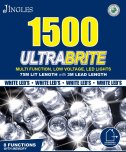 Jingles 1500 Ultrabrite Multi-Function LED Lights - White