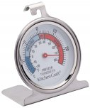 KitchenCraft Stainless Steel  Fridge Thermometer 7.55cm