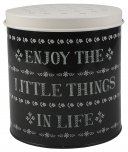 Creative Tops Stir It Up Little Things Storage Tin Black