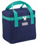 KitchenCraft Navy & Green Lunch / Snack Cool Bag, 5 Litres