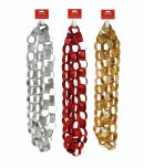 Premier Decorations Glitter Paper Chain 2.7M - Assorted