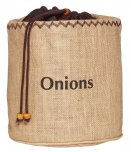 KitchenCraft Natural Elements Onion Preserving Jute Sack