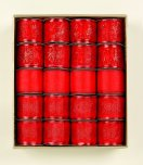 Premier Decorations Sheer Ribbon Collection 2.7M x 6cm Red - Assorted