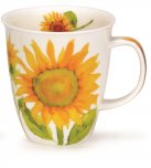 Dunoon Nevis Shape Fine Bone China Mug - Flora - Sunflower