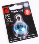 Petface Outdoor Paws Flash Tag Blue