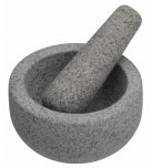 MasterClass Granite Mortar & Pestle, 12cm x 6.5cm