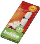 Bolsius Tea Lights White 10PK