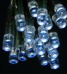 Premier Decorations Battery Operated Static & Flashing 20 LED Lights - White