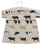 Sophie Allport Peg Bag  - Cows