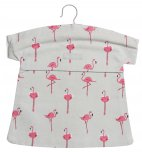 Sophie Allport Peg Bag - Flamingos