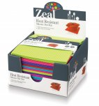 Zeal Silicone Square Trivet 18cm Assorted