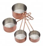 MasterClass Measuring Cup Set Copper