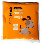Petface No Mess Poop Bags Pack Of 100