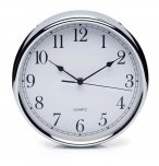 KitchenCraft Stainless Steel Wall Clock 29cm