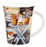 Churchill Alex Clark Flirt By The Shed Mug 370ml