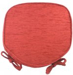 Evans Lichfield Savannah Walled Seat Pad - Terracotta
