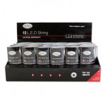 The Christmas Workshop Battery Operated String Lights 15 LED - Red