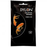Dylon Fabric Dye for Hand Use - Goldfish Orange (55)