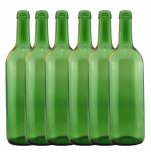 Young's 6 Pack Wine Bottles - Green