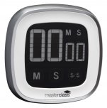 MasterClass Digital Touch Screen Timer Up to 100 Minute