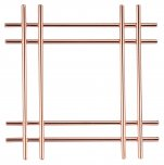 Apollo Housewares Copper Cross Trivet 20cm