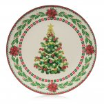 Premier Decorations Charger Plate 40cm - Christmas Tree