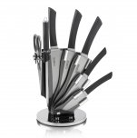 Tower 7 Piece Knife Set with Acrylic Stand