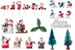 Easybake Christmas Cake Decorations (Pack of 3) - Assorted