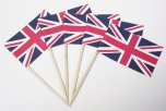 NJ Products Union Jack Sandwich Flags (Pack of 10)