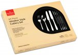 Grunwerg Cutlery Windsor Pattern Stainless Steel 44 Piece Cutlery Set