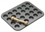 MasterClass Non-Stick Mini Twenty Four Hole Tart Pan