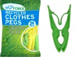 EcoForce Recycled Clothes Pegs (24 Pack)