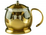 La Cafetiere Edited Le Teapot 4 Cup - Brushed Gold