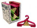 Wham Laundry Junior Coathangers Lime/Fuchsia Assorted (Set of 4)